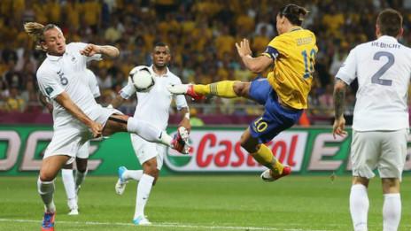Pháp thua Thụy Điển
