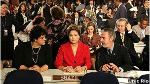 Dilma Rousseff na Rio+20   Foto: Unic Rio/ Pieter Zalis