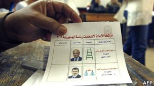 Candidatos presidenciales en Egipto