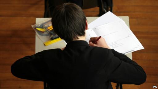 中学生考试