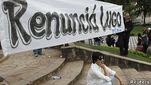 Piden renuncia de Lugo