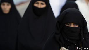 Mujer de Arabia Saudita
