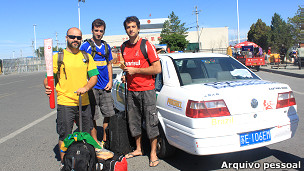 Richard Amante e Edgar e Paulo Scherer | Crédito da foto: Richard Amante