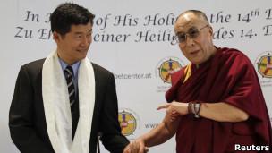 洛桑桑盖和达赖喇嘛