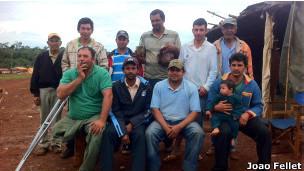 Activistas sin tierra