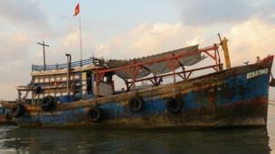 Tàu cá BT 93700 TS