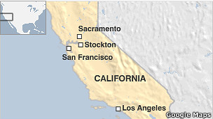 Mapa de Stockton | Crédito da foto: Google Maps