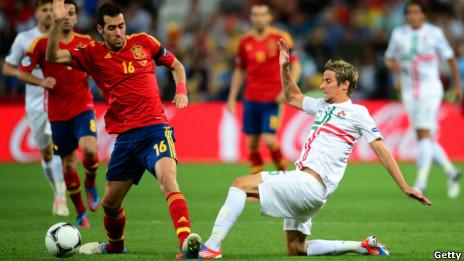 Bồ Đào Nha gặp Tây Ban Nha