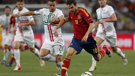 Fabregas của Tây Ban Nha