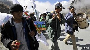 Marcha hacia La Paz