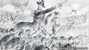 Imagem de Duque de Caxias na Guerra do Paraguai