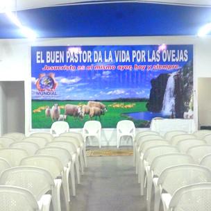 Sede da Igreja Mundial do Poder de Deus em Montevidéu