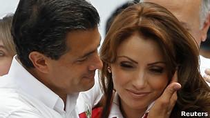 Enrique Peña Nieta y Angélica Rivera