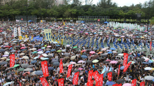 香港2012年七一示威大游行