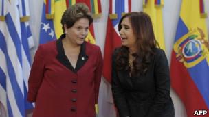 Cristina Kirchner | Crédito da foto: AFP