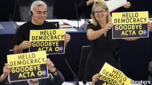 Acta rejection EU