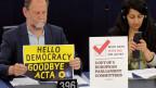 ACTA rechazado por el Parlamento europeo (Archivo)