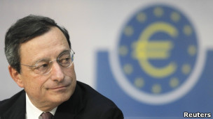 Mario Draghi, Banco Central Europeo