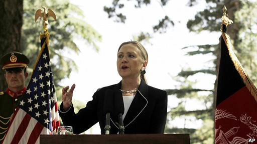 Bà Clinton sẽ dịu giọng với Trung Quốc tại Phnom Penh?