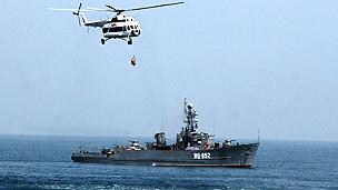 Vùng 3 Hải quân thao diễn trên Biển Đông