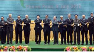 东盟与中日韩外长会在柬埔寨金边召开。