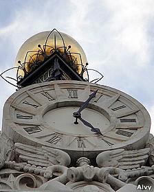 Reloj Banco Español, foto Alvy