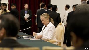 美国国务卿希拉里·克林顿(11/07/2012)