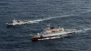 Tàu tuần tra Trung Quốc chạm trán tàu tuần duyên Nhật trên Biển Hoa Đông