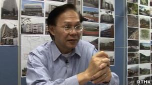麦齐光(香港电台2012年5月档案图片)