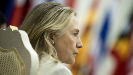 Ngoại trưởng Hillary Clinton tại Phnom Penh