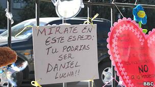 Velatorio Daniel Zamudio