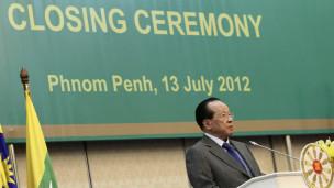 Ngoại trưởng Hor Namhong tại phiên bế mạc Hội nghị Ngoại trưởng Asean