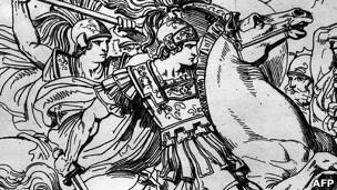 Dibujo de Alejandro Magno
