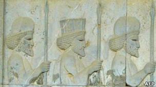 Relieve en Persépolis