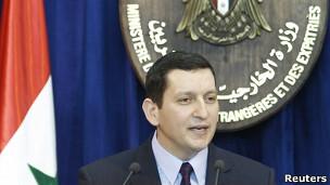 Portavoz del ministerio de Relaciones Exteriores de Siria