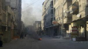 大马士革市街头