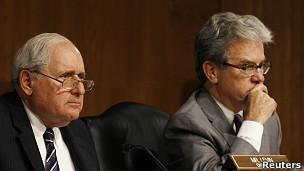 Senadores Carl Levin y Tom Coburn