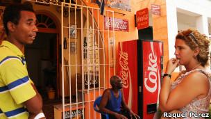 vendedores de coca cola