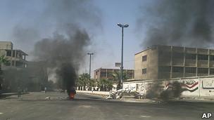 Violencia en calles de Damasco