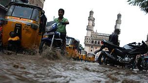 हैदराबाद बारिश