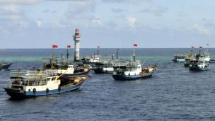 Tàu cá của Trung Quốc trên Biển Đông