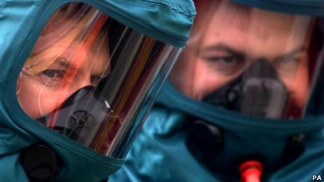 Protección contra armas químicas