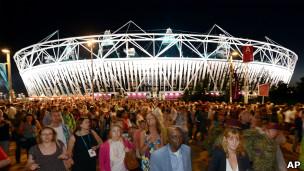 Secreto ceremonia Londres 2012
