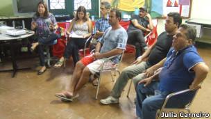 Encontro de ativistas do Grupo Pela Vidda (Foto: Júlia Carneiro)