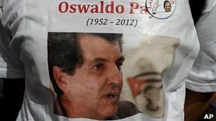 Camiseta con foto de Oswaldo Payá