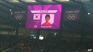 Nhầm cờ Bắc-Nam Hàn