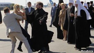 Кирило в аеропорту