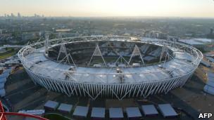 Estádio olímpico (Foto AFP)