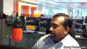 Sri Lanka Sports Minister Mahindananda Aluthgamage