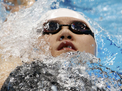 Ye Shiwen wins swimming gold for China
